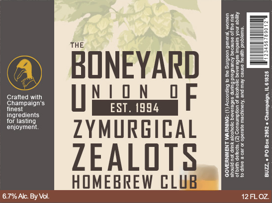 Boneyard Union of Zymurgical Zealots Established: 2013